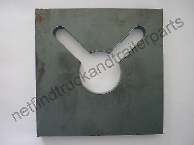 Chain Holder Suit Tag Machinery, 10mm 250gr Thick Steel Plate Truck Trailer