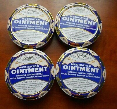 Rawleigh  Medicated Ointment  (Set of 4)  5 oz. each