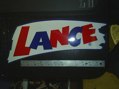 new old stock --- Lance ---  self adhesive Decal #304A