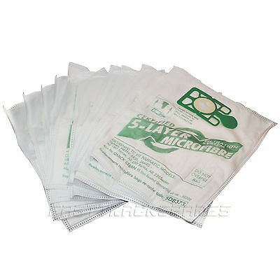 Pack of 10 Numatic Henry James Basil Hetty Microfibre HVR200 Vacuum Bags