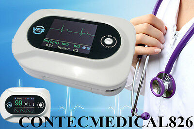 New Digital Multi Functional stethoscope CMS-VE,SPO2+ECG+Pulse Rate+USB,ECG WAVE