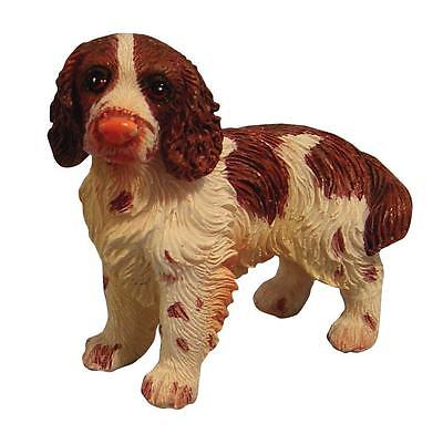 Dolls House 12th scale Resin Standing Spaniel Dog
