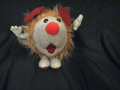 1995 Big Comfy Couch Dust Bunny Wuzzy plush Dust Bunnies MOLLYS TV SHOW