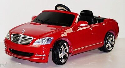 Mercedes S600 Licensed Ride On Toy Car Remote Control 6V Battery Power Wheels