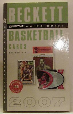 Beckett Official Price Guide - Basketball Cards - Edition #16 - 2007