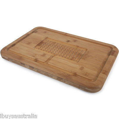 Core Bamboo Diamond Carving & Serving Presentation Board Tray Platter 10135