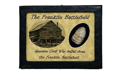 Shot Bullet From the Battle of Franklin with Certificate of Authenticity