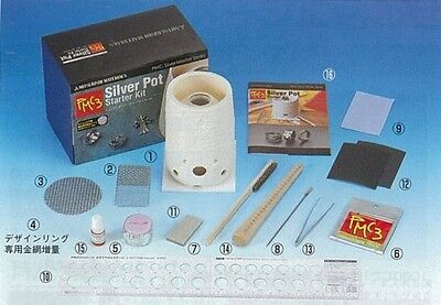 F/S New Start Kit  PMC3 by Mitsubishi Materials silver clay JAPAN pmc metal