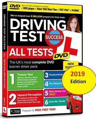 Driving Theory Test Success DVD and Hazard Perception. For MAC, PS3/4, XBOX