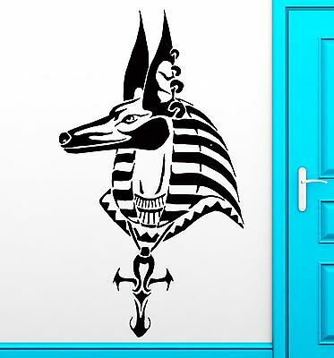 Wall Sticker Anubis Egypt Egyptian God Mythology  Decor For Bedroom (z2518)