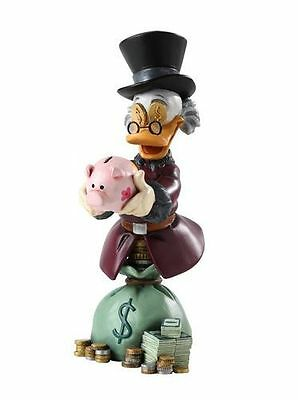 Disney Grand Jester Uncle Scrooge Mcduck Mini Bust- Donald Duck