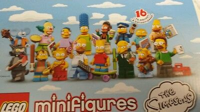 LEGO The SIMPSONS ~ Complete Set of All 16 Minifigures ~ Series 13 ~ 71005