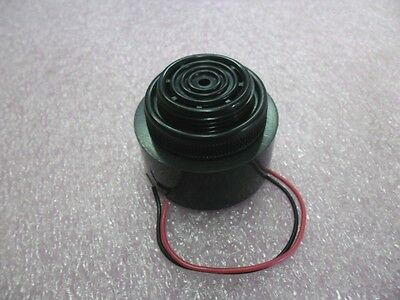 HPA43AX-1 PULSE TONE 30mm ROUND BUZZER 12VDC - 24VDC (6-28V) 1900hz  100db wires