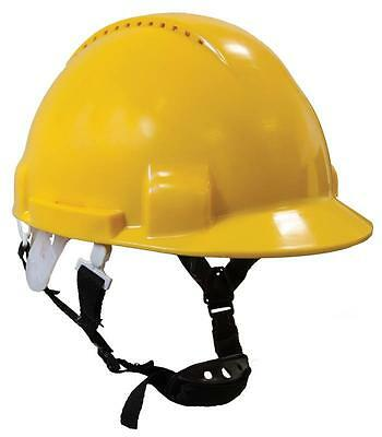 Portwest Scaffolders Climbers Climbing Safety Helmet Hard Hat With Chin Strap