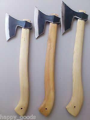 Family Survival Hand Forged Hatchet Axe Set /  P24SML / Forest Tools / Lot of 3