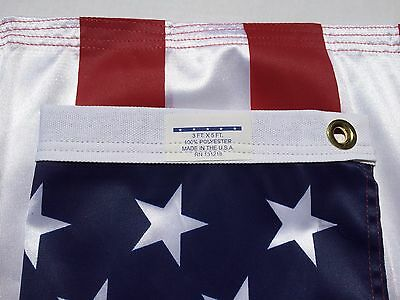 3x5 FT Valley Forge US American Flag Ultra Knit Polyester Commercial Strong Flag