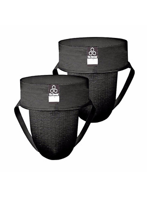 McDavid Classic Logo 3110 CL Athletic Supporter / 2-Pack - Black - Small