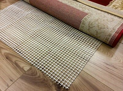 Anti-Slip Slide Safe Non-slip Underlay for Rug Runners on All Hard Floors S-XL