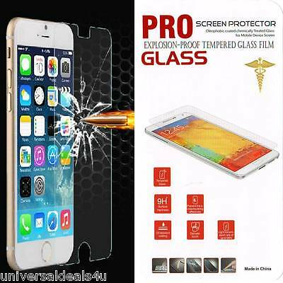 """Premium Tempered Glass Screen Protector for IPhone 6 4.7"""", 6s, 6 Plus 5.5"""""""