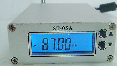 ST-05A LCD Digital PLL stereo FM transmitter  0.5W 87--108MHZ only host