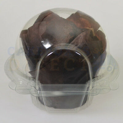 480 x LARGE /MUFFIN CUPCAKE CLEAR POD *FREE NEXT DAY DELIVERY