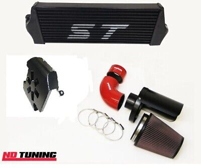 Ford Focus ST225 Intercooler and Group A Open Air Filter With Cold Feed Scoop