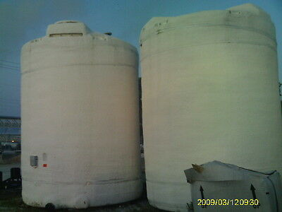 12,500 Gallon Polyprocessing Vertical  Water Treatment Insulated  Poly Tank