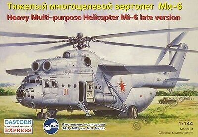 Eastern Express 1/144 Mi-6 Late version (EE14507) Heavy Helicopter