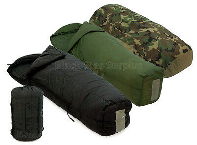 4-pc -40° Military Modular MSS Army Sleeping Bag System w/ Weather Proof Cover