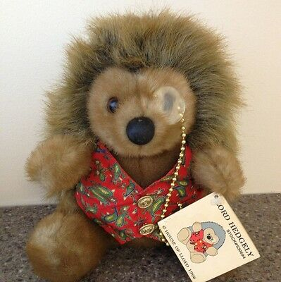 """LORD HEDGELY #530694 Vintage 1996 Plush House of Lloyd 9"""" tush/hang tags"""