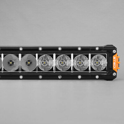 24.5 inch LED Light Bar Single Row Bars 10W CREE LED