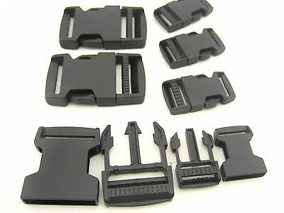 POM Delrin Side Release Plastic Buckles Clips For Webbing fastener replacement