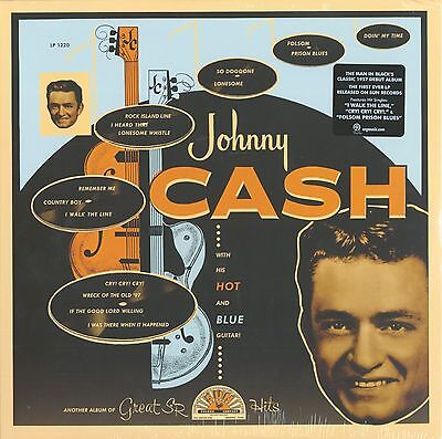 Johnny Cash - With His Hot And Blue Guitar (LP) - Vinyl Country