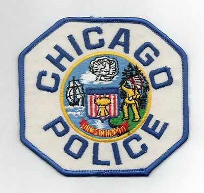 patch CHICAGO POLICE