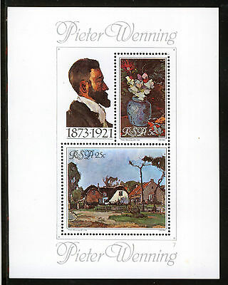 SUDAFRICA/RSA SOUTH AFRICA 1980 MNH SC.532/533a Paintings by Pieter Wenning