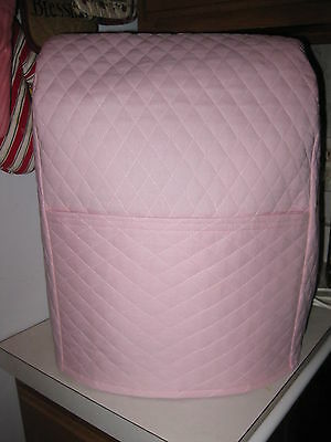 """Kitchen Aid Mixer cover 6 qt - """"Pink Quilted"""""""