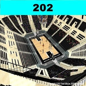 2 TIX San Antonio Spurs vs WAS Wizards 1/3 AT&T Center Sect-202