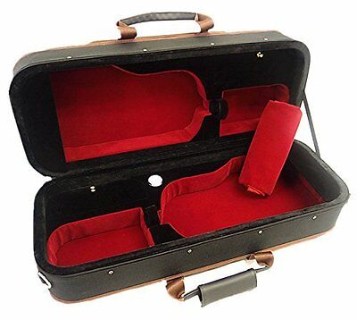 Nice Light Weight 4/4 Double/Two Violins Foamed Case+ free violin string set