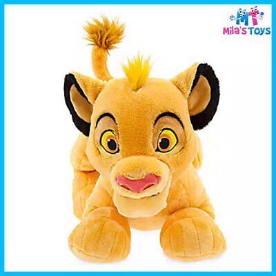 """Disney The Lion King Simba 11"""" Plush Doll Soft Toy brand new with tag"""