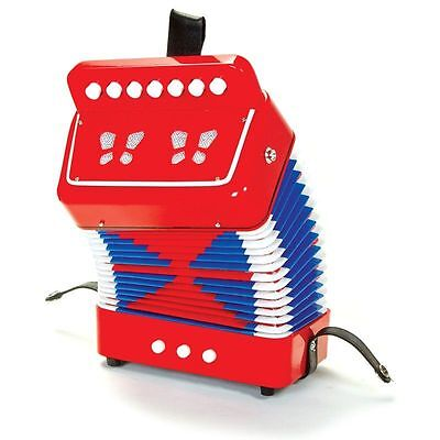 Tobar Musical Instrument Traditional Toy Accordion