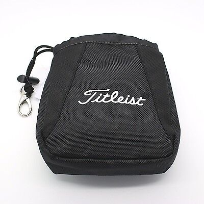 Brand New 2016 Titleist Golf Essential Valuables Pouch/Bag – Black