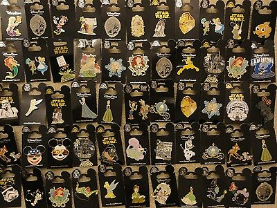 Disney Trading Pin Lot of 50 pins new on card
