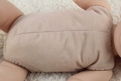 """19"""" reborn doe suede body for baby doll kits completely full limbs arms & legs!"""