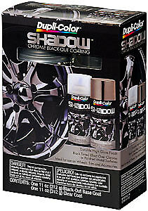 Duplicolor SHD1000 Shadow Chrome Black-Out Coating Kit