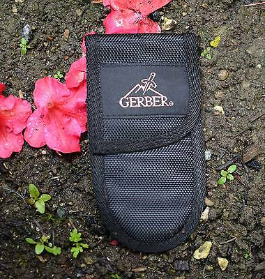 ONE 15cm x 8cm NEW NICE GERBER MULTI TOOL/KNIFE POUCH NO KNIFE, NO RESERVE ! NR
