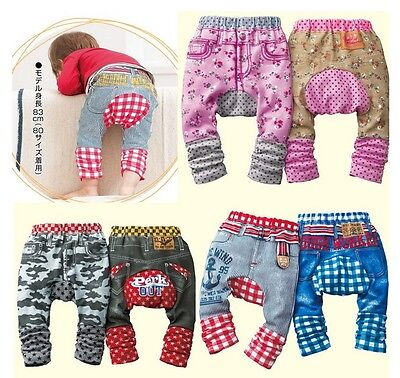 Cute Baby Boy/Girl Toddler Leggings Trousers Pants S M L - 6-12 12-18 18-24 Mths