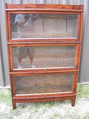 Antique Stacking Bookcase  Three stacks