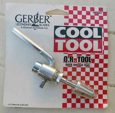 "COOL TOOL Q.R.Tool ""Quick Release tool"" Gerber Vintage FREE POST"