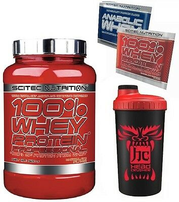 Scitec Nutrition 100% Whey Protein Professional 920 g Proteine + SHAKER OMAGGIO