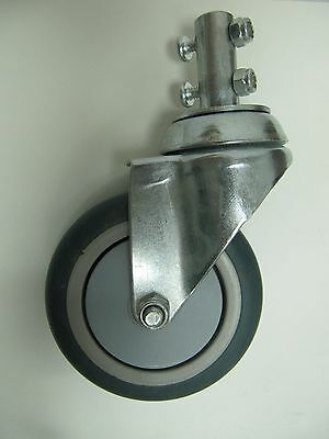 LAUNDRY CART 4 INCH REPLACEMENT CASTERS FITS RB87G MODELS
